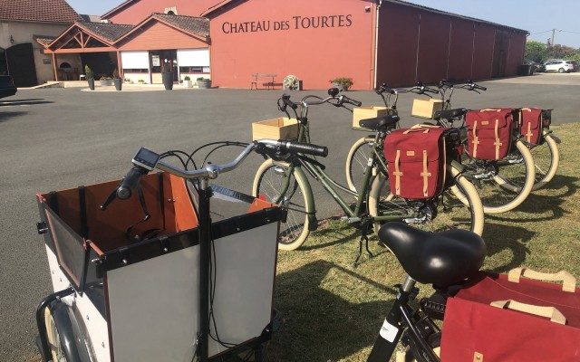 Electric bike rental in Château des Tourtes
