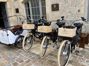 Barsac-Sauternes à vélos électriques