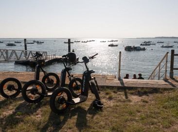 🌿A team building to organize? Explore Cap Ferret on an electric scooter 🌿!